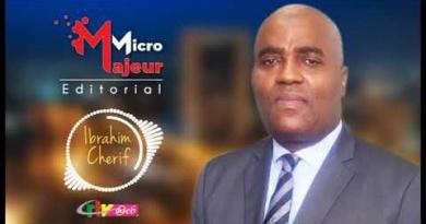 Micro Majeur: Entendons-nous avec Ibrahim CHERIF sur la CRTV du 22 Avril 2021