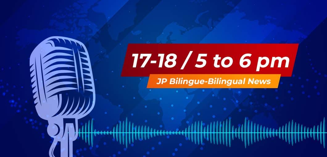 Le JP Bilingue du 17-18 du 21 Juillet 2021 sur la CRTV