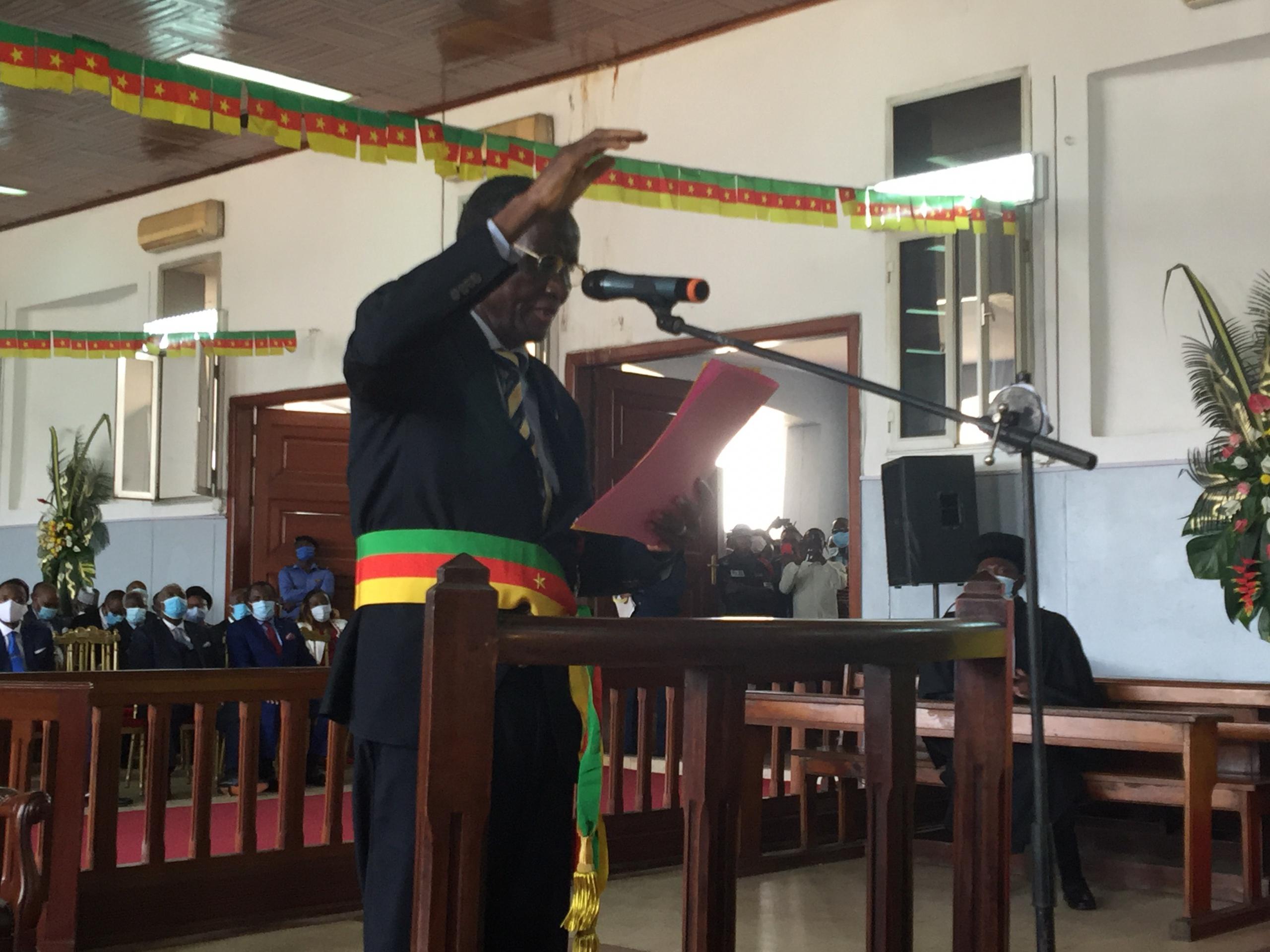 #Régionales2020: le président Gilbert Tsimi Evouna installé