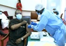 COVID19: Prime Minister Dion Ngute, Cabinet Ministers, Diplomats Take Vaccine