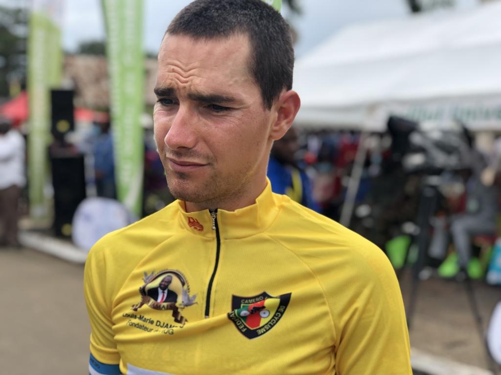 Andreev Yordan at the Cameroon International Cycling Tour