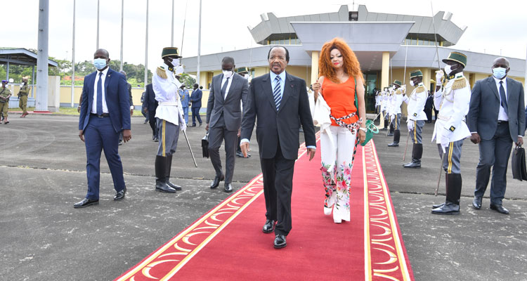 Paul Biya en Europe
