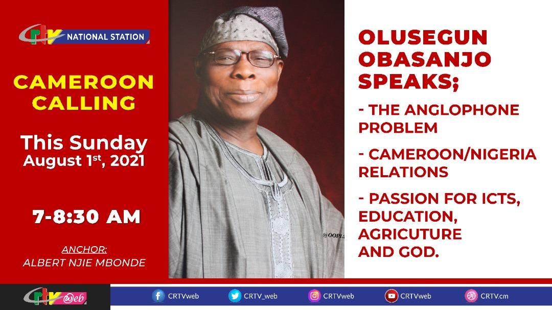 Olusegun OBASANJO on CRTV Radio of 1st July 2021 o