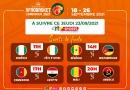 AfroBasket2021 : Les combinaisons des quarts de finale sont connues