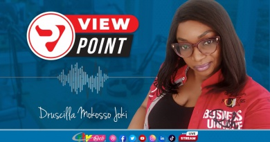 The View Point with Druscila Mokosso joki of October 22th, 2021 on CRTV
