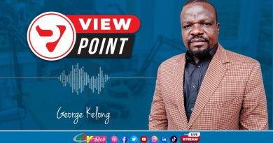 View Point of Octobre 19, 2021 on CRTV: George KELONG