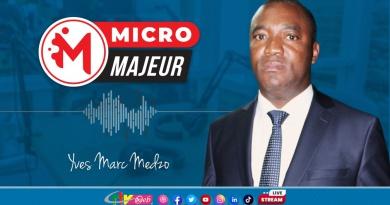Micro Majeur de la CRTV du 17 Septembre 2021: TOUT COMPTE FAIT Yves Marc MEDZO